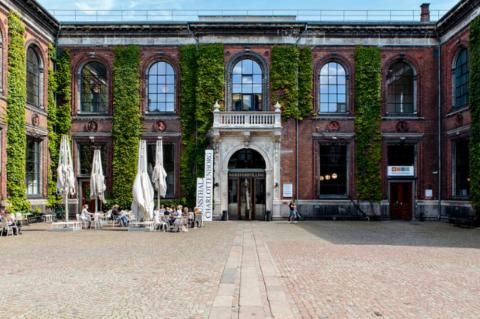 Museum wedding in Copenhagen Denmark